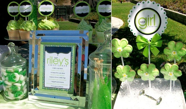 Lime Inspired Baby Shower Vendor Challenge