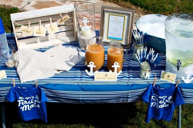 Nautical Baby Shower Brunch Guest Feature Celebrations