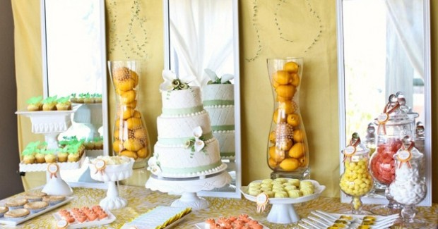 Citrus Inspired Wedding Design {Vendor Challenge}
