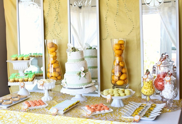 Citrus Inspired Wedding Design Vendor Challenge Celebrations
