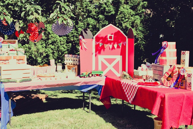 Country Fair Birthday Party Celebrations At Home