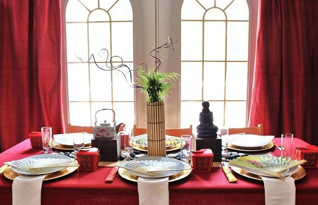 How to host an asian themed dinner party celebrations at for Japanese themed house