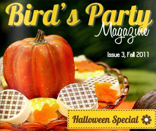 Bird's Party Fall Magazine