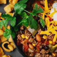 Easy Slow Cooker Fiesta Chili Recipe for Entertaining