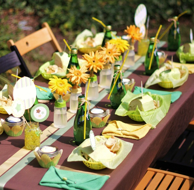 backyard baby shower for baby lifestyles magazine celebrations at
