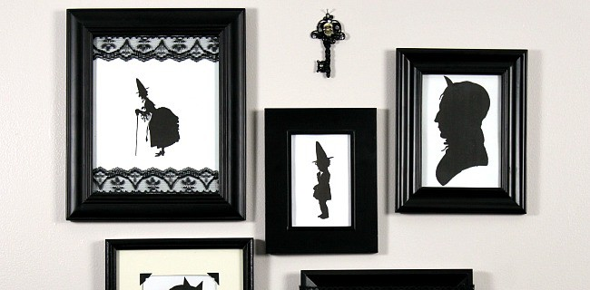 Halloween Framed Silhouette Wall