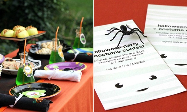 See Halloween themed food and costume party ideas here.