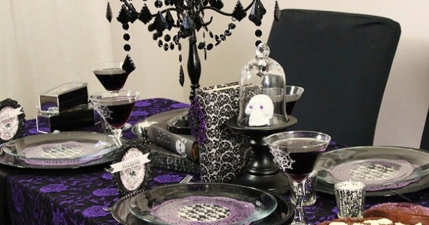 Halloween Gothic-Glam Ladies Night