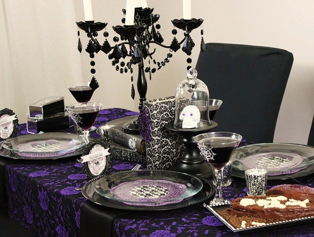 Decoracion Gotica Para Fiestas ~ Halloween Gothic Glam Ladies Night ? Celebrations at Home