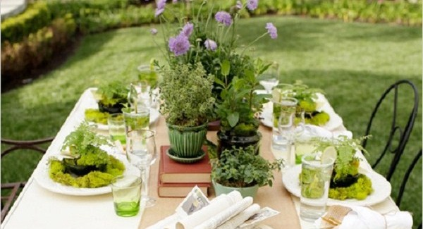 Green Garden Bridal Shower {Guest Feature}