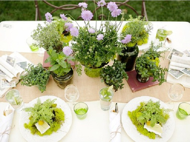 Green Garden Bridal Shower {Guest Feature} - Celebrations at Home