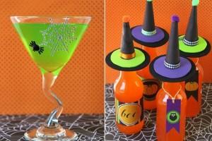 dress up Halloween drinks