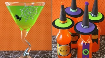 dress up Halloween drinks