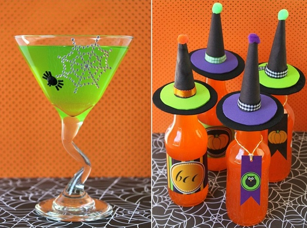 8 ways to dress up your drink for halloween celebrations at home