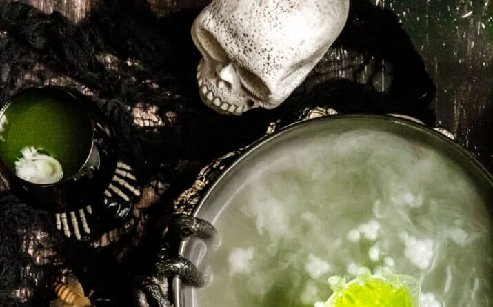 Green Halloween Punch Recipe for Adults