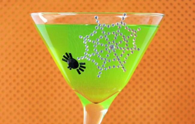 """""""Green Goblin"""" Halloween Punch Recipe for Adults"""