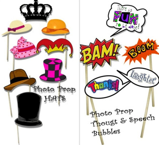photo booth props free printable baby shower quotes