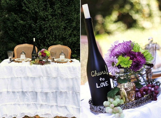 wine themed wedding decorations ideas for a wine themed wedding celebrations at home 1432