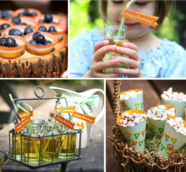 Woodland Birthday Party Free Printables Guest Feature