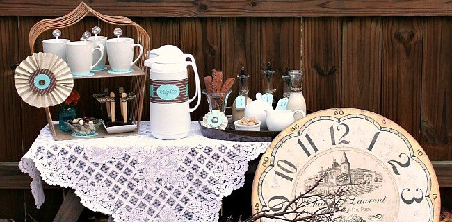 Entertaining : How To Set Up A Coffee Bar