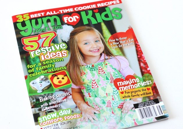 Published In Yum Food & Fun For Kids – Winter 2011