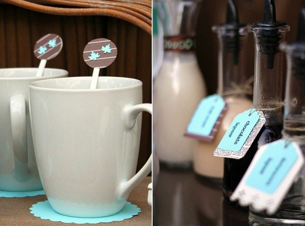 you find out how to set up a coffee bar for fall entertaining at home you