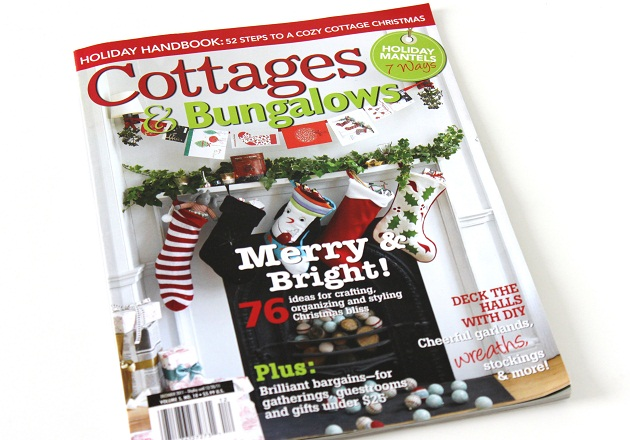 Published In Cottages & Bungalows Magazine – December 2011