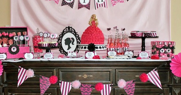 Barbie Inspired Birthday Party