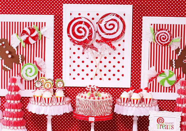 Hot Cocoa & Candy Christmas Party {guest feature}