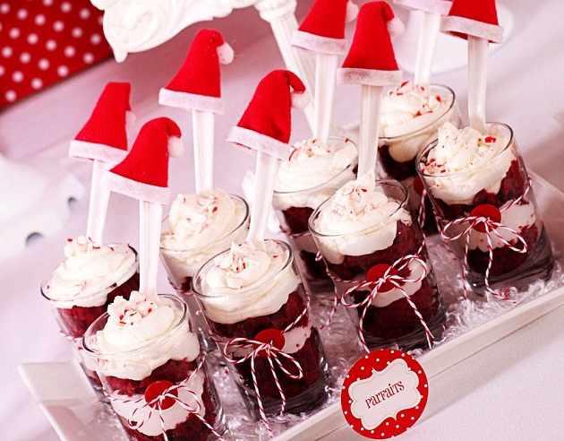 Christmas Dessert Party Ideas Part - 15: Hot Cocoa U0026 Candy Christmas Party ...