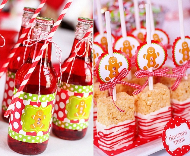Superior Christmas Party Presentation Ideas Part - 13: Hot Cocoa U0026 Candy Christmas Party Design Ideas: