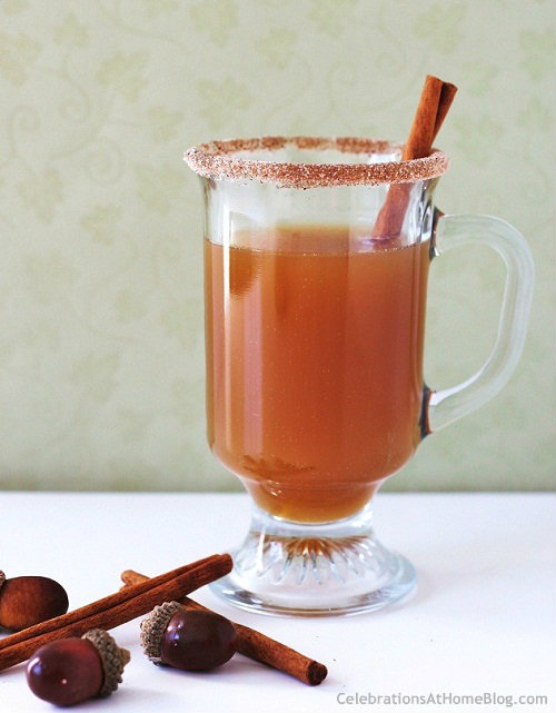 Spiced Apple Hot Toddy Recipe — Celebrations at Home