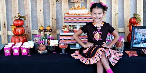 Pumpkin Patch Birthday Party {guest feature}