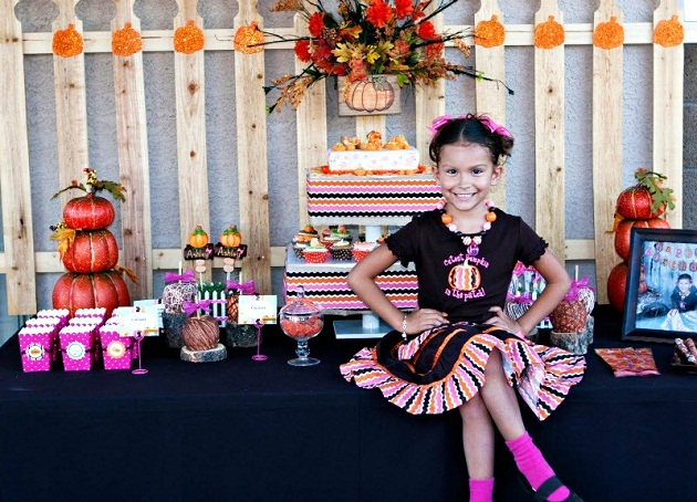 Pumpkin Patch Birthday Party guest feature Celebrations at Home