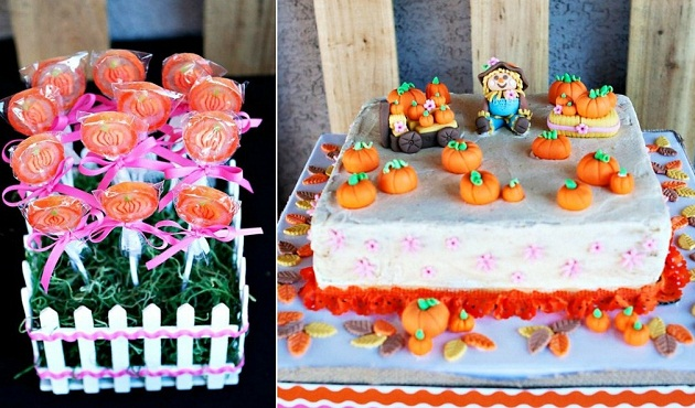 Pumpkin Patch Birthday Party Guest Feature