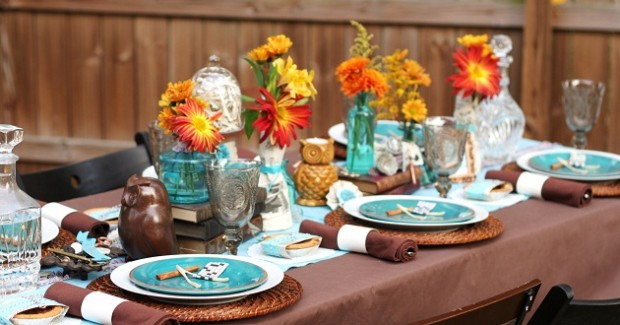 Rustic Fall Tablescape Ideas