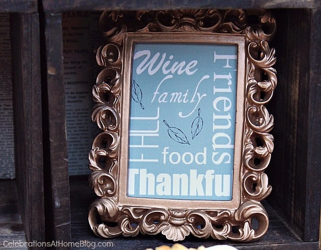 Wine-cheese bar; Thanksgiving wine & cheese bar; Fall entertaining