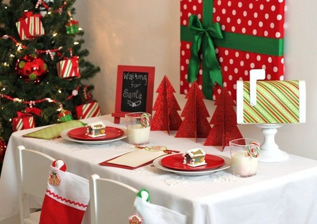 Budget Friendly Kids Christmas Table