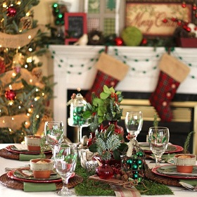 Entertaining Series – Rustic Woodland Christmas