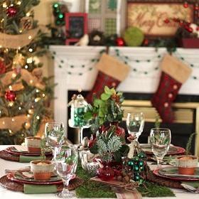 Entertaining Series – Rustic Woodland Christmas