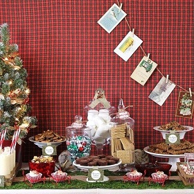 entertaining series - rustic woodland christmas - celebrations at home