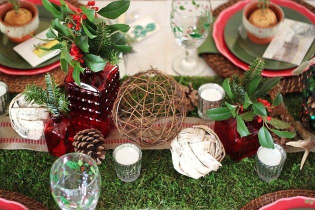 decorating for entertaining - Woodland Christmas