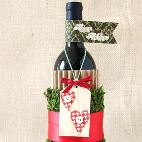 Dress Up Your Holiday Hostess Gift – Wine