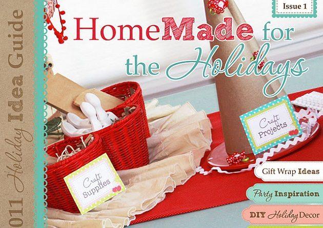 Homemade For The Holidays E-zine