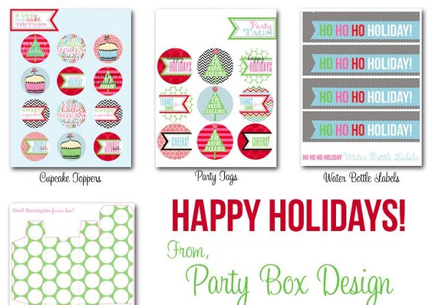 FREE Christmas Party Printables Collection