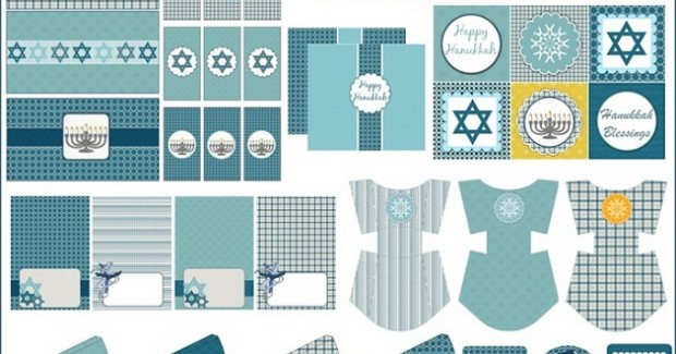FREE Hanukkah Printable Party Set