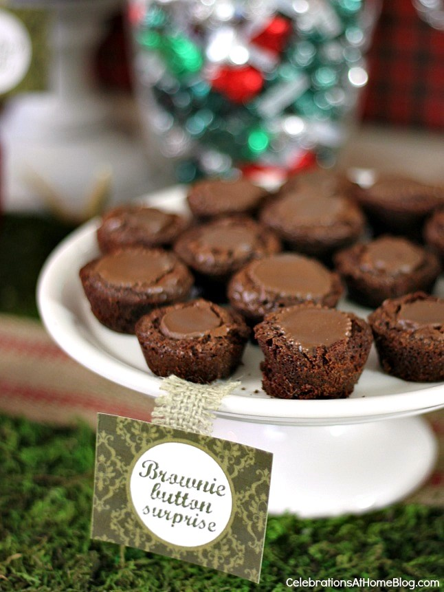 3 of my favorite homemade sweet treats - brownie buttons