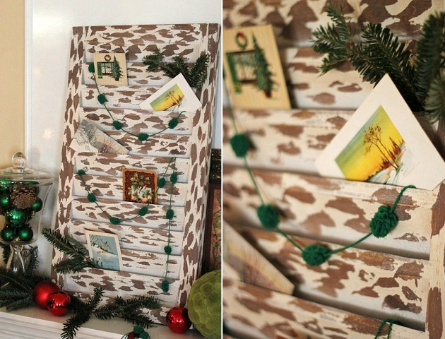 Christmas card display ideas celebrations at home - Christmas card display ideas ...