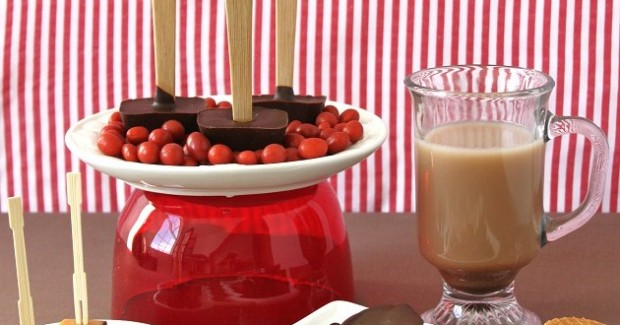 Make Your Own Chocolate Stirrers