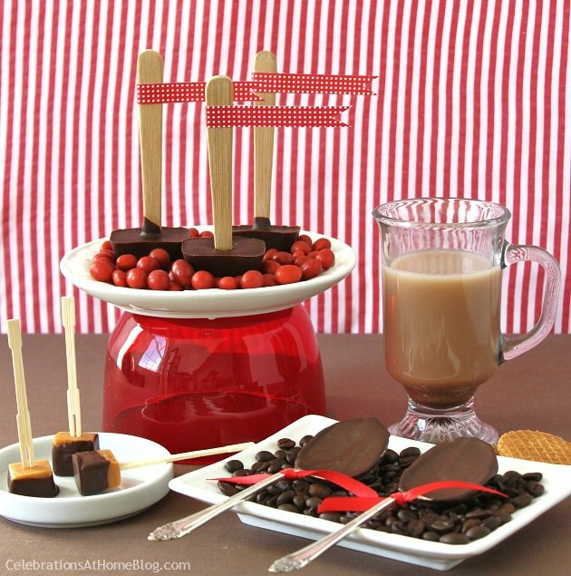 Make Your Own Chocolate Stirrers Celebrations At Home